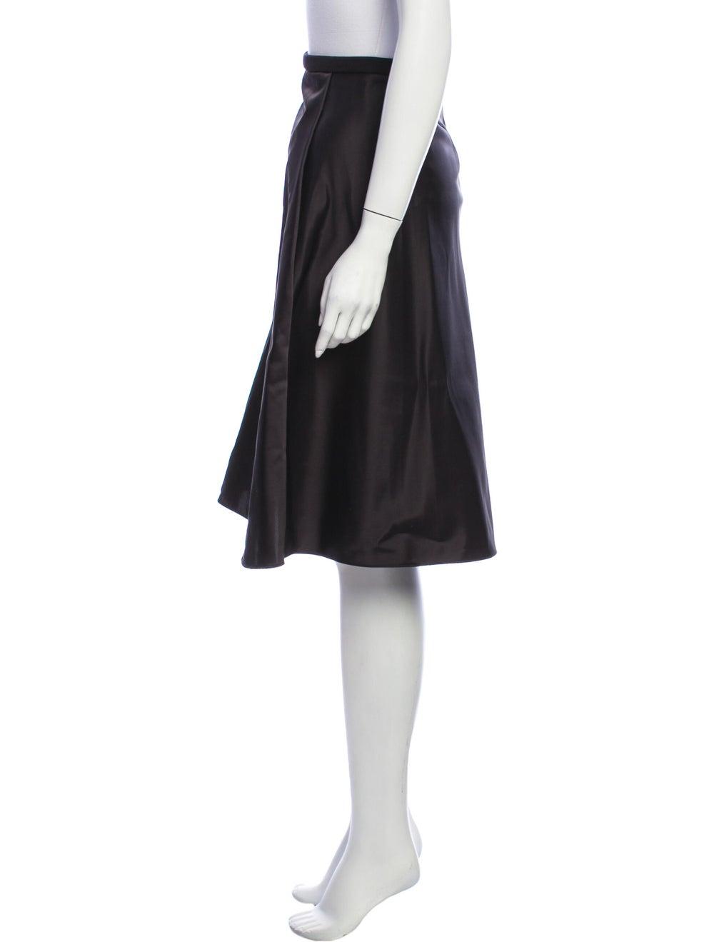 Acne Studios Knee-Length Skirt Black - image 2