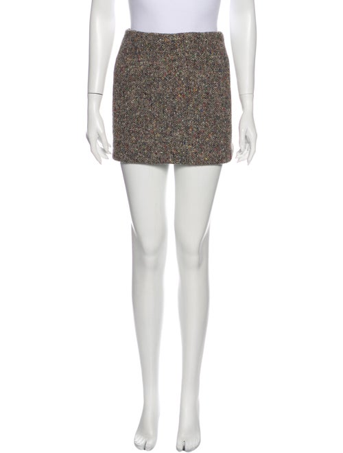 Acne Studios Mini Skirt Grey - image 1