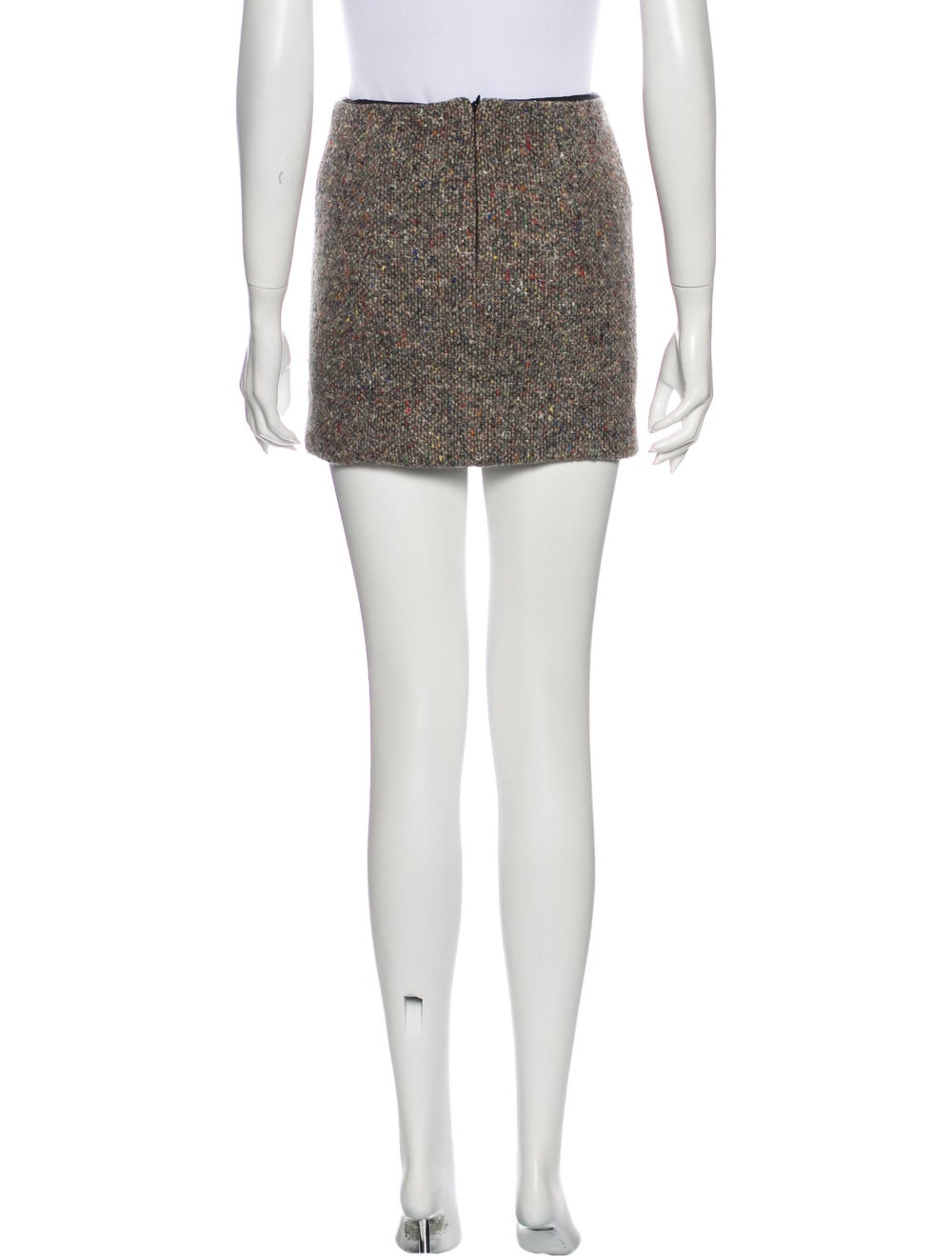 Acne Studios Mini Skirt Grey - image 3
