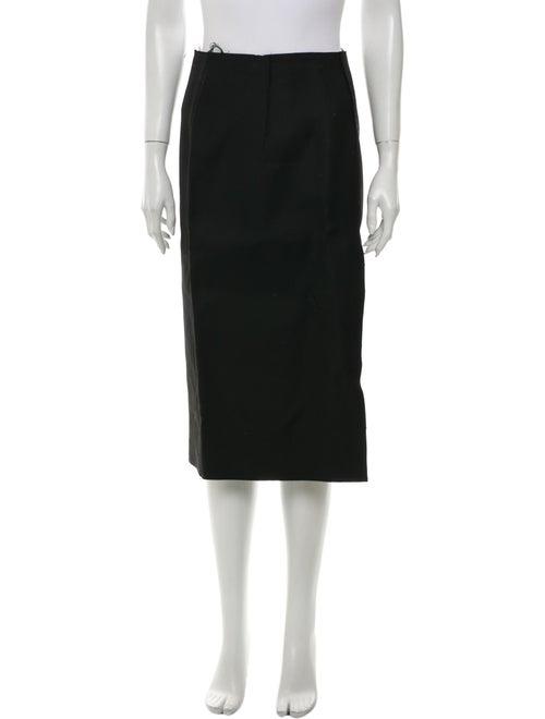 Acne Studios Wool Knee-Length Skirt Wool