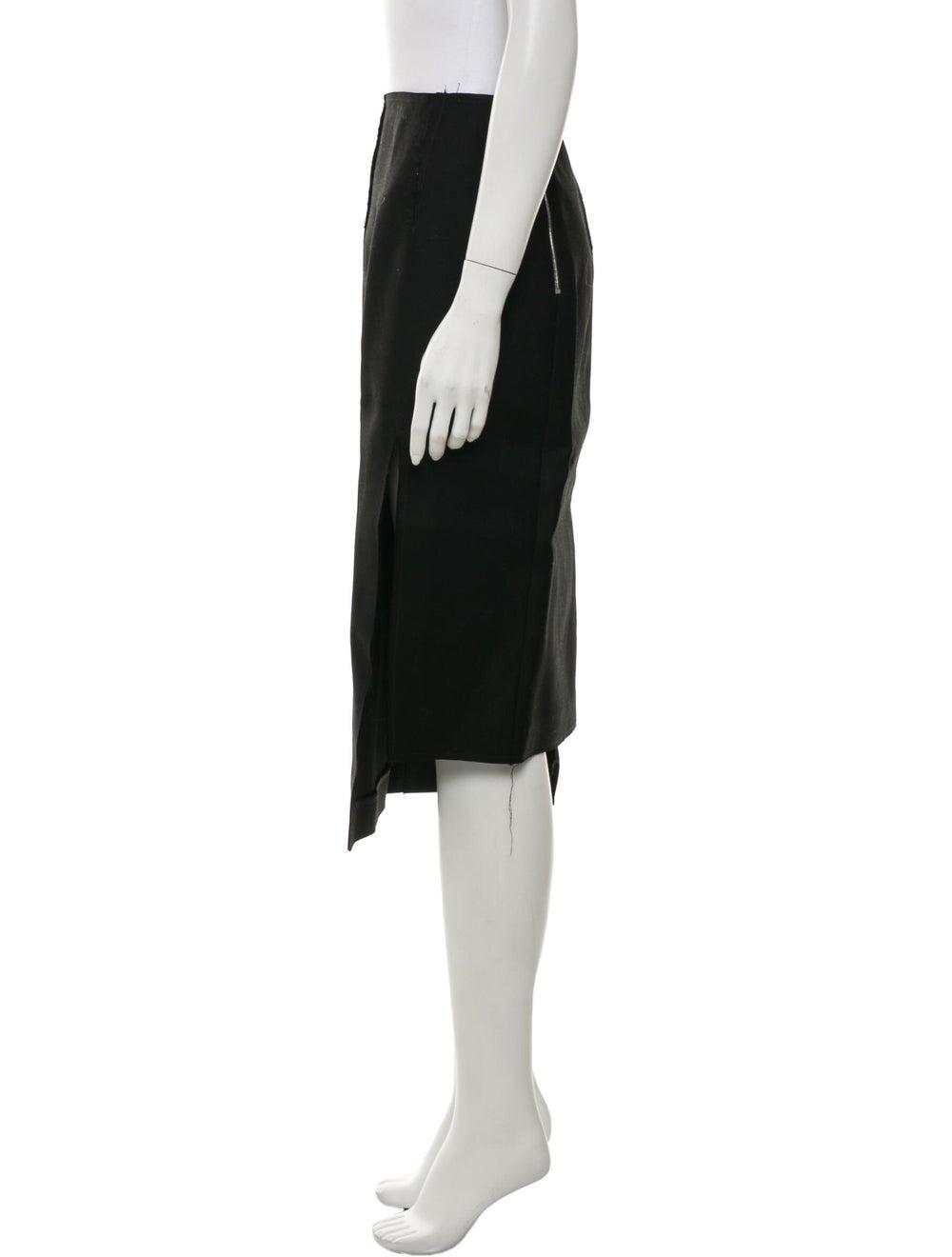 Acne Studios Wool Knee-Length Skirt Wool - image 2