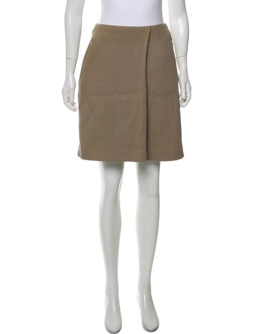 Acne Studios Corduroy Mini Skirt Beige