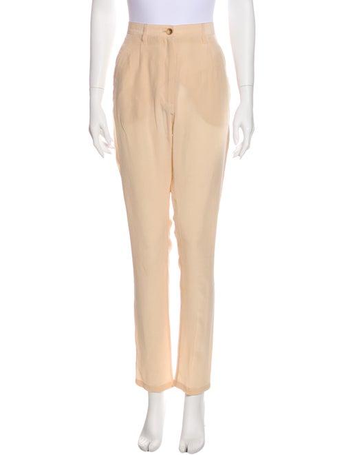 Acne Studios Silk Straight Leg Pants