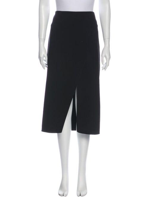 Acne Studios Midi Length Skirt Black