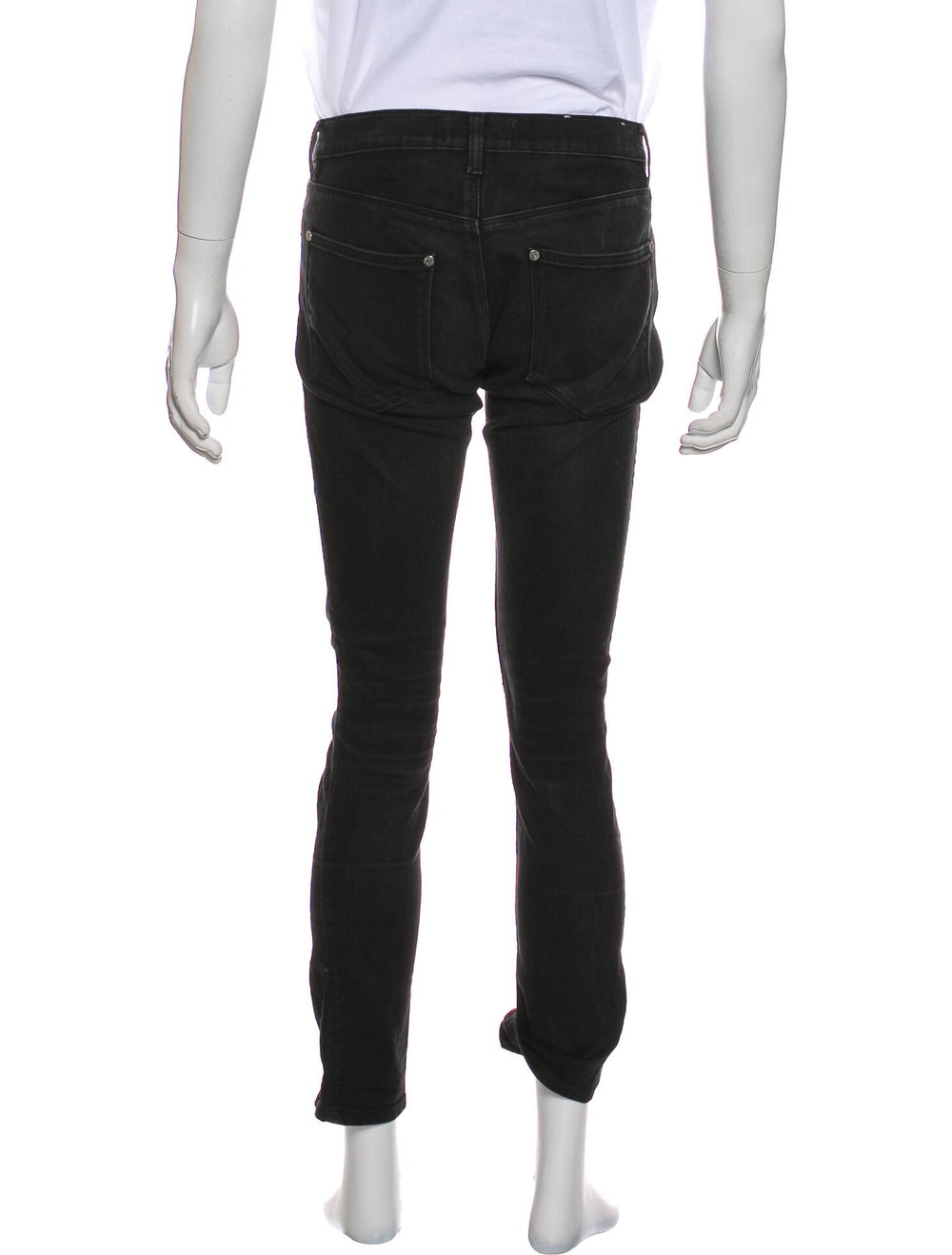 Acne Studios Max Skinny Jeans Black - image 3