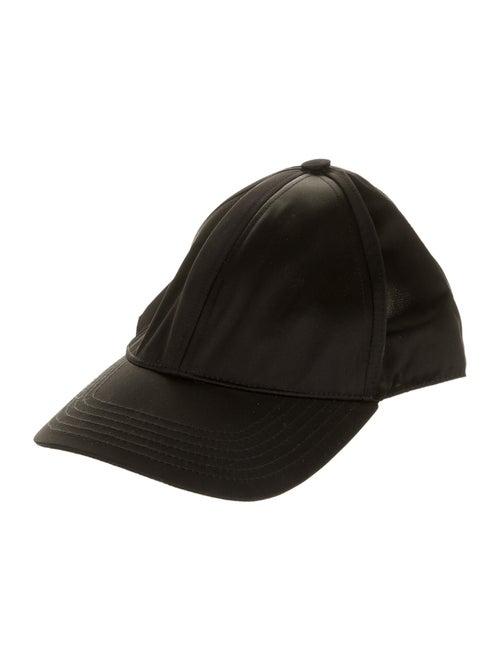 Acne Studios Nylon Baseball Cap Black