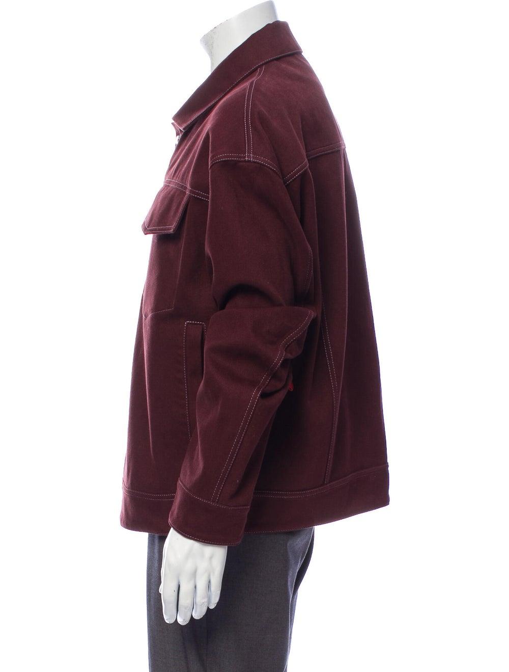 Acne Studios Jacket Purple - image 2