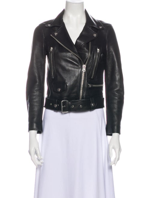 Acne Studios Biker Jacket Black