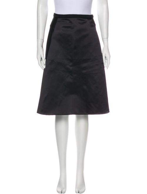 Acne Studios Knee-Length Skirt Black