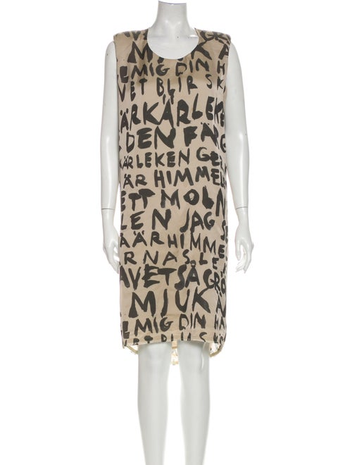 Acne Studios Printed Knee-Length Dress