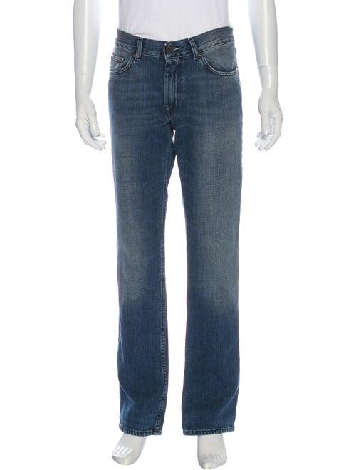 Acne Studios Straight-Leg Jeans Blue