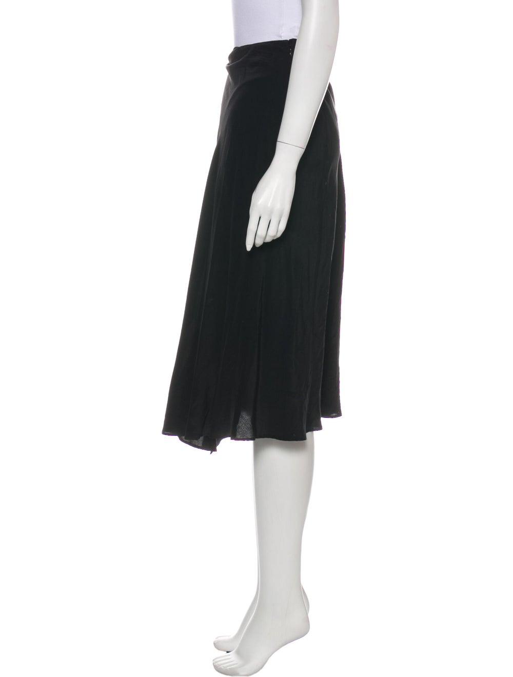 Acne Studios Midi Length Skirt Black - image 2