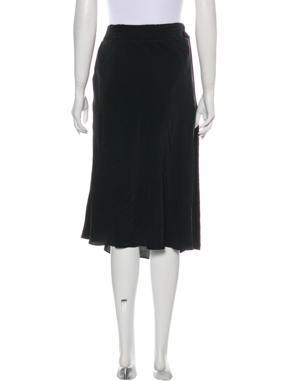 Acne Studios Midi Length Skirt Black - image 3