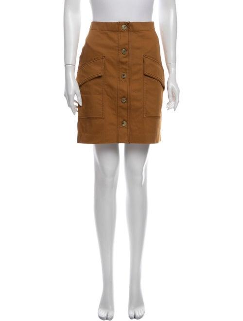 Acne Studios Mini Skirt Brown
