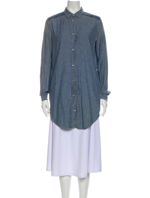 Acne Studios Mini Dress Blue
