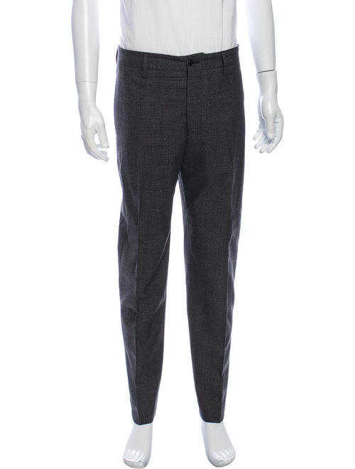 Acne Studios Wool Dress Pants Wool