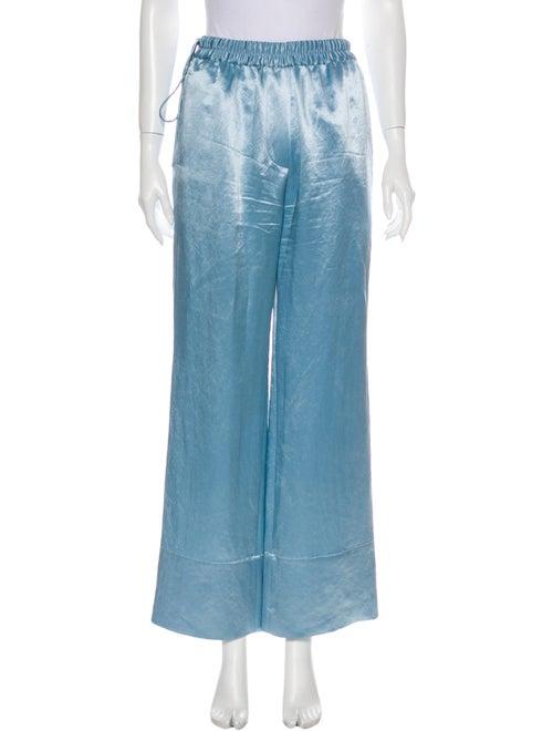 Acne Studios Wide Leg Pants Blue