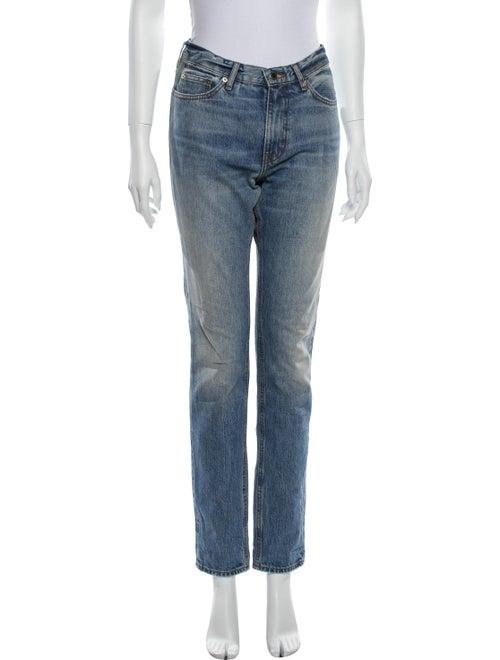 Acne Studios Boy New Vintage Straight Leg Jeans Bl
