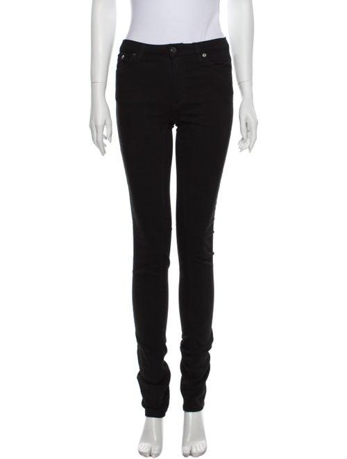 Acne Studios Mid-Rise Skinny Leg Jeans Black