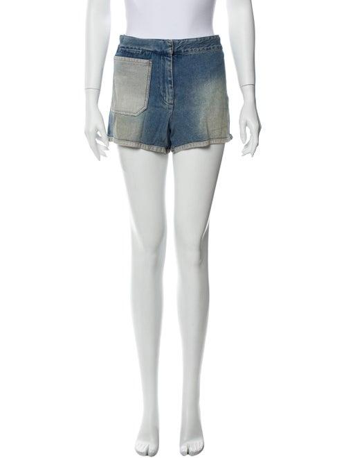 Acne Studios Mini Shorts Blue