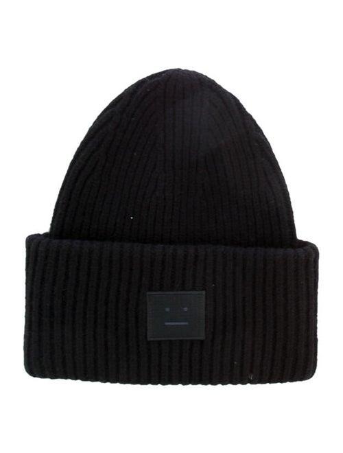 Acne Studios Wool Knit Beanie black