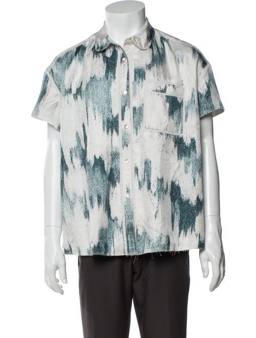 Acne Studios Printed Short Sleeve Shirt
