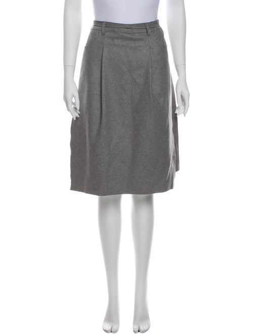 Acne Studios Wool Knee-Length Skirt Wool