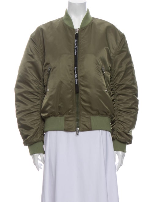 Acne Studios Bomber Jacket Green