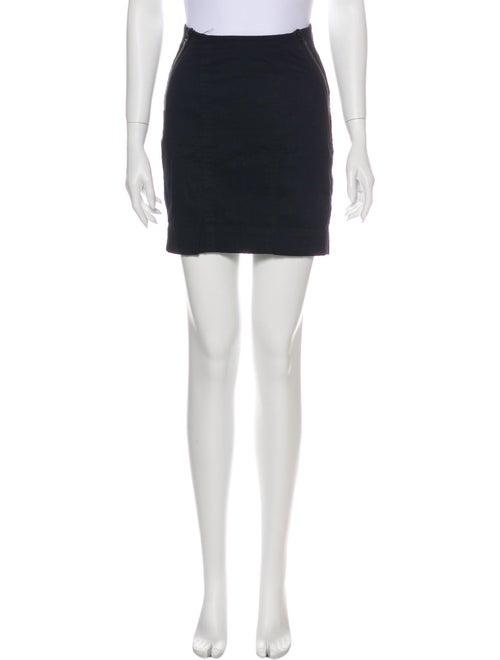 Acne Studios Mini Skirt Blue
