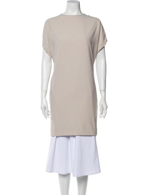Acne Studios Bateau Neckline Mini Dress