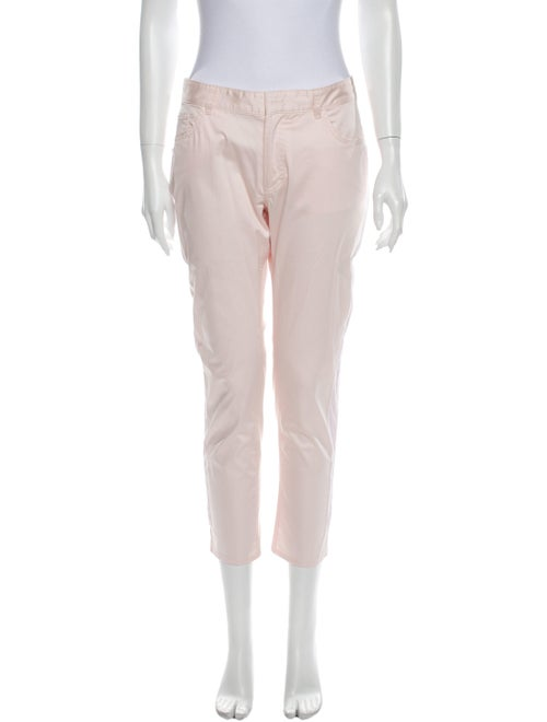 Acne Studios Straight Leg Pants Pink