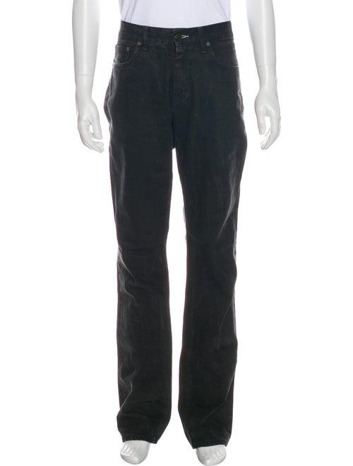 Acne Studios Straight-Leg Jeans Black
