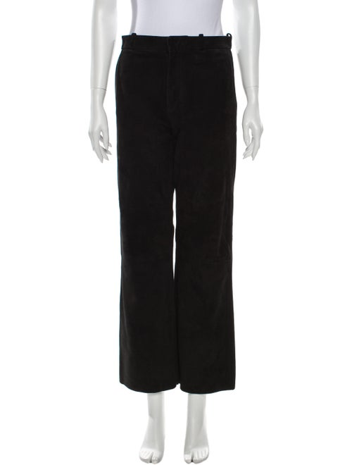 Acne Studios Wide Leg Pants Black