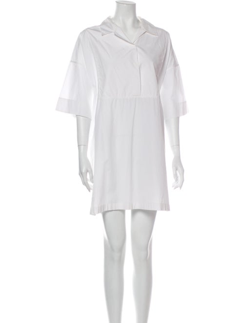 Acne Studios Mini Dress White