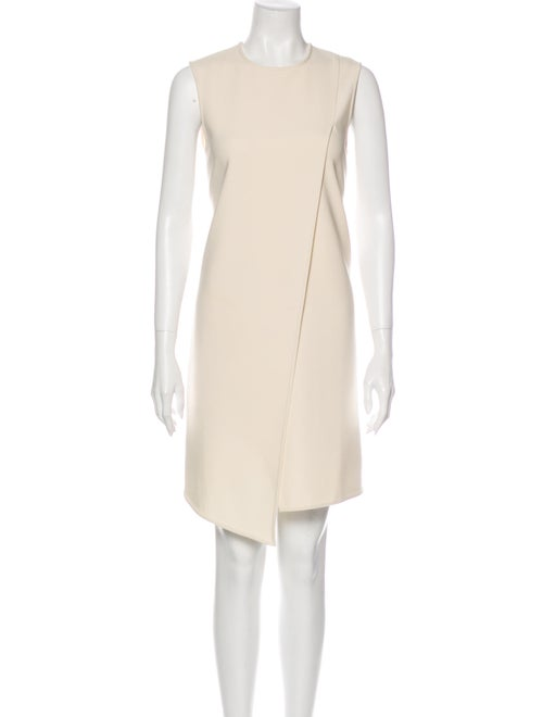 Acne Studios Crew Neck Knee-Length Dress White