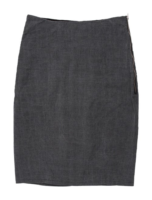 Acne Studios Knee-Length Skirt Grey