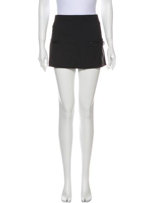 Acne Studios Wool Mini Skirt Wool