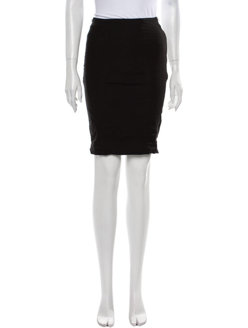 Acne Studios Knee-Length Skirt Black