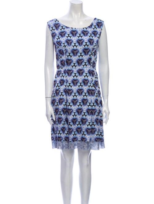 Acne Studios 2012 Mini Dress Blue