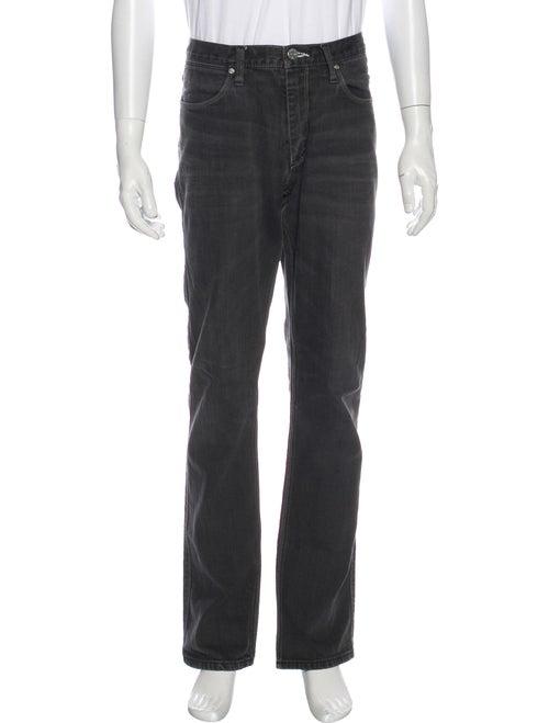 Acne Studios Straight-Leg Jeans Grey