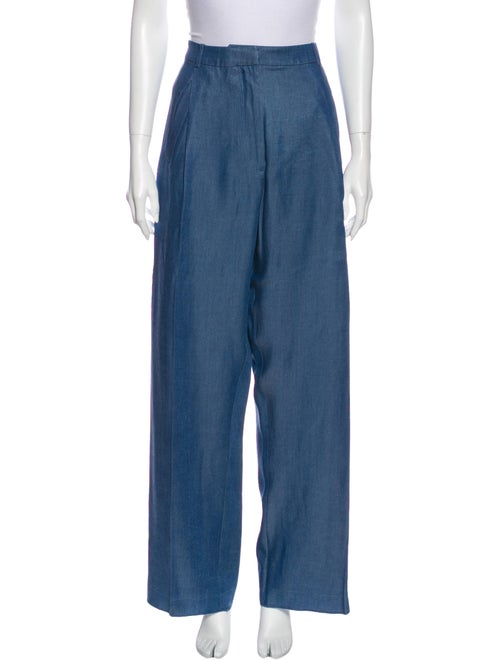 Acne Studios Wide Leg Pants Blue