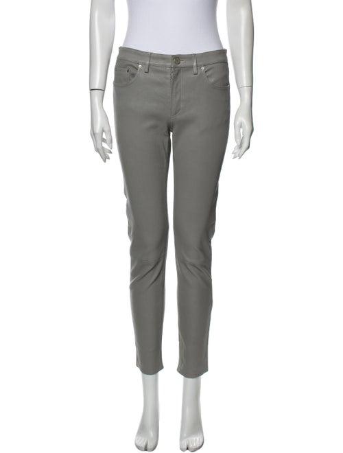 Acne Studios Mid-Rise Skinny Leg Jeans Grey
