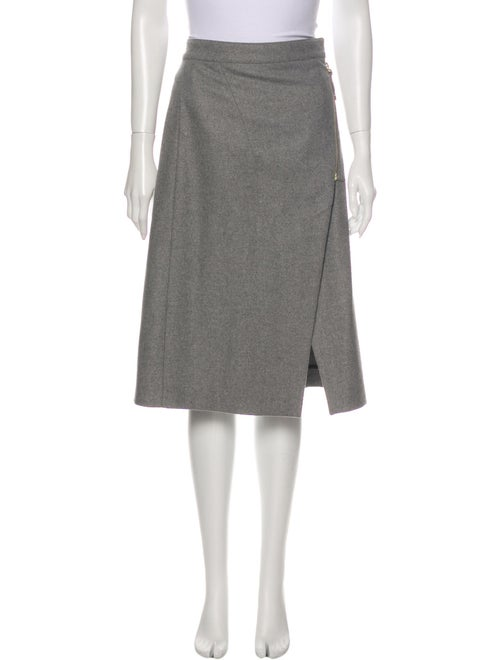 Acne Studios 2016 Knee-Length Skirt Grey
