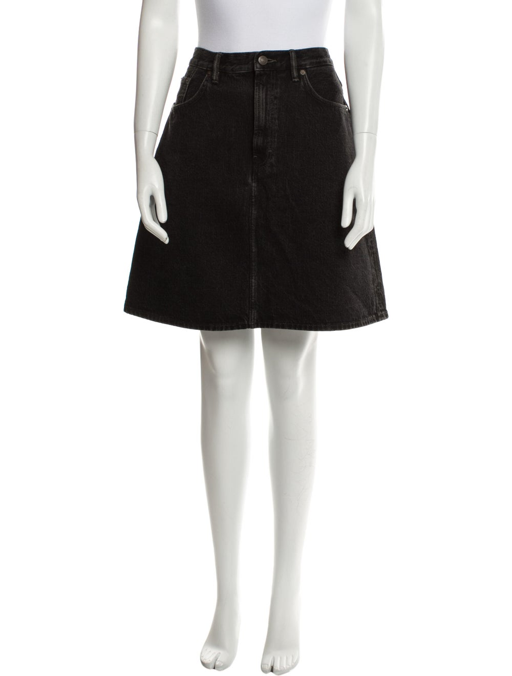 Acne Studios Mini Skirt Black - image 1