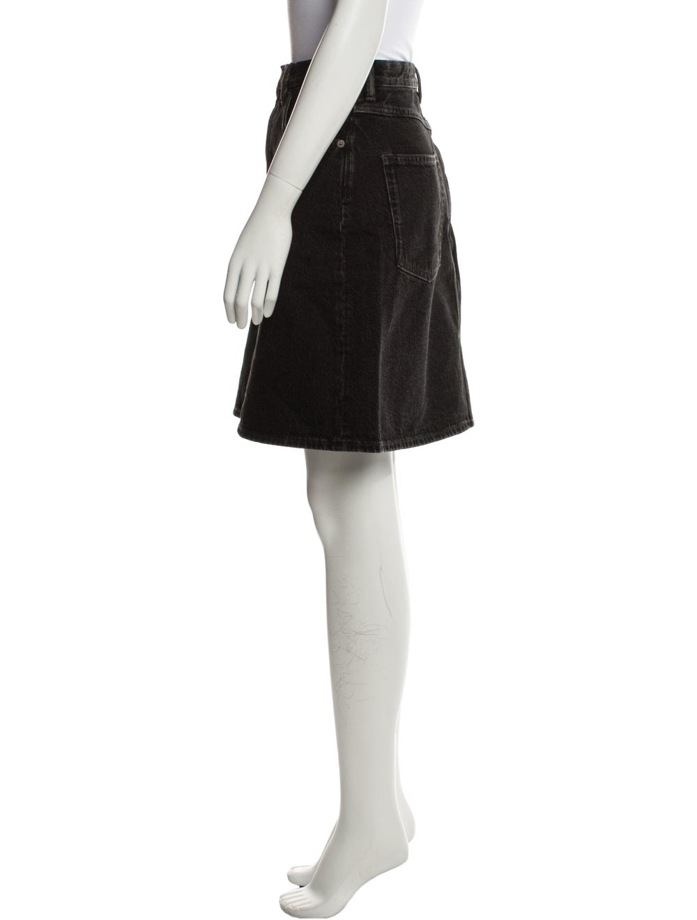 Acne Studios Mini Skirt Black - image 2
