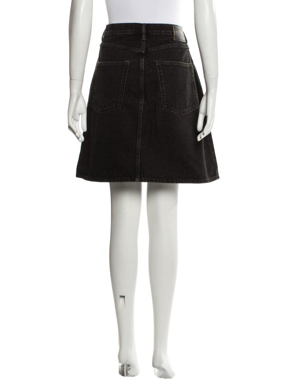 Acne Studios Mini Skirt Black - image 3