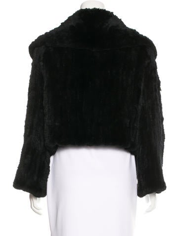 Long Sleeve Fur Coat
