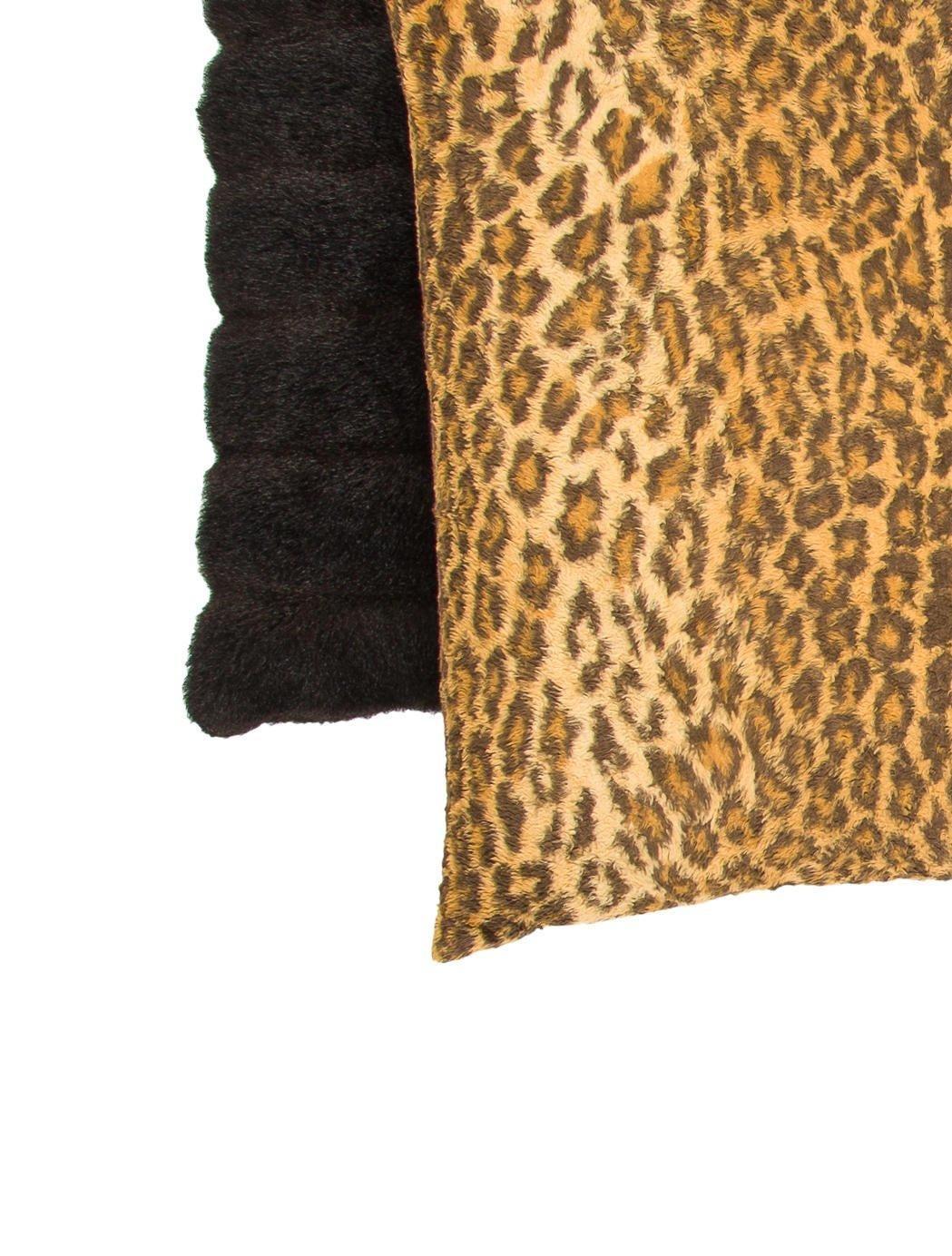 Leopard Print Dining Room Set