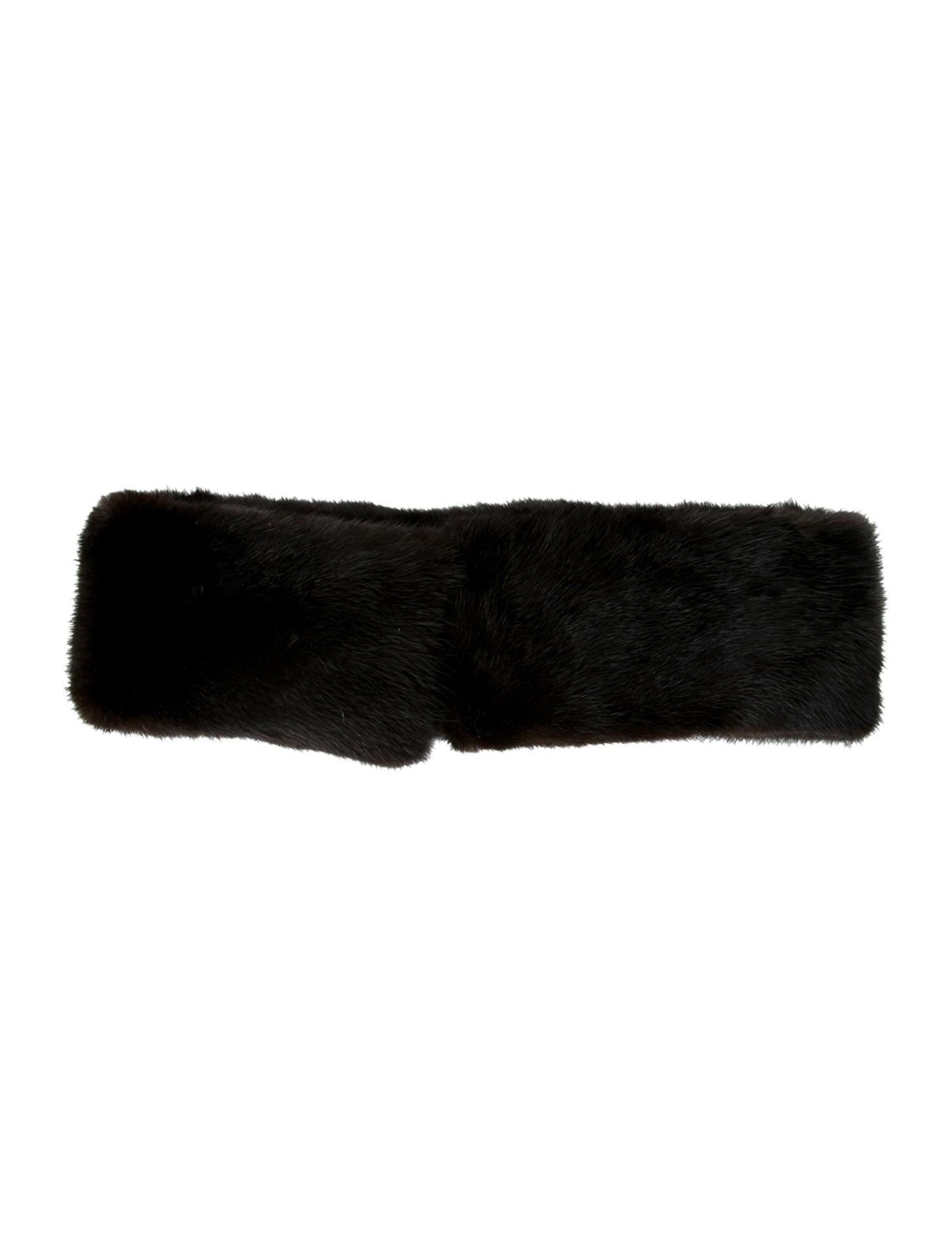 Adrienne Landau Mink Fur Headband - Accessories - ADR21814  f15a9e6b12c