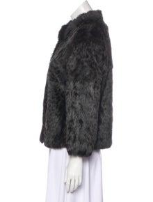 06e5928533 Adrienne Landau. Animal Print Fur Jacket. Size  M